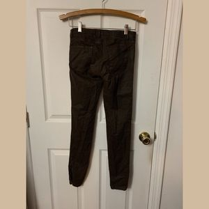 Zara Pants - Brown Zara skinny leather pants